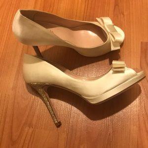New With Tags Kate Spade Satin Felisha Heels 7